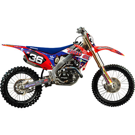 2012 N-Style Troy Lee Designs Graphics Kit - Honda - Main