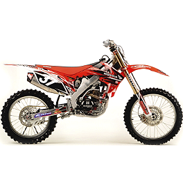 2012 N-Style Ultra Graphics Kit - Honda - 2006 Honda CR125 2012 N-Style Troy Lee Designs Graphics Kit - Honda