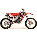 2012 N-Style Ultra Graphics Kit - Honda -  Dirt Bike Body Kits, Parts & Accessories