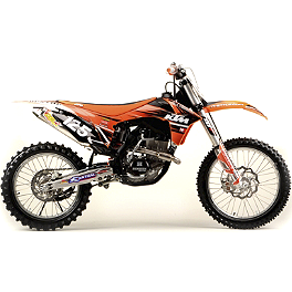 2012 N-Style Ultra Graphics Kit - KTM - 2006 KTM 250SXF Dr.D Complete Stainless Steel Exhaust With Spark Arrestor
