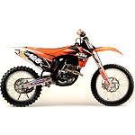 2012 N-Style Ultra Graphics Kit - KTM -  Dirt Bike Body Kits, Parts & Accessories