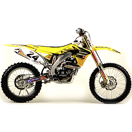 2012 N-Style Ultra Graphics Kit - Suzuki - Factory Effex EVO 10 Graphics And Seat Cover Combo - Suzuki
