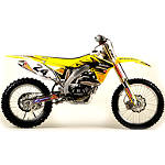 2012 N-Style Ultra Graphics Kit - Suzuki - Dirt Bike Graphic Kits