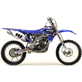 2012 N-Style Ultra Graphics Kit - Yamaha - 2008 Yamaha YZ250 Limited Rim Decals - Yamaha 19