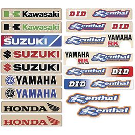 N-Style Swingarm Decal - 2011 Kawasaki KLX110 2012 N-Style Pro Circuit Team Graphics Kit - Kawasaki