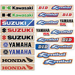 N-Style Swingarm Decal - Dirt Bike Trim Decals