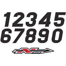 "N-Style Stadium Style Numbers - XL 7"" - One Industries SX Numbers - 7"