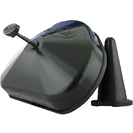 No Toil Airbox Cover - 2013 Yamaha YZ450F No Toil Hoseless Vented Gas Cap