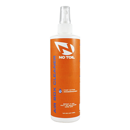 No Toil Airbox Cleaner - 16oz - No Toil Filter Maintenance Kit