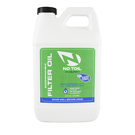 No Toil Evolution Oil - 64oz - No Toil Filter Cleaner - 64oz