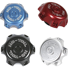 No Toil Hoseless Vented Gas Cap - 2008 Honda CRF150R Big Wheel No Toil Pre-Oiled Dual Stage Air Filter