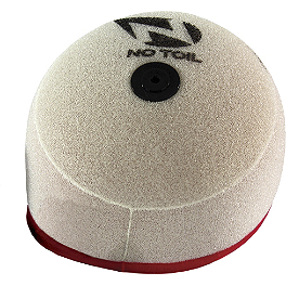 No Toil Super Flow Replacement Air Filter - 2014 Honda CRF450R No Toil Pre-Oiled Dual Stage Air Filter