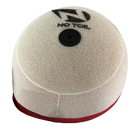 No Toil Super Flow Replacement Air Filter - 2010 Kawasaki KX250F No Toil Airbox Cover