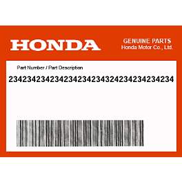 Honda Genuine Accessories Heated Grips Attachment Kit - Honda Genuine Accessories Accessory Wire Harness