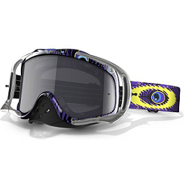 Oakley Crowbar MX Troy Lee Designs Signature Goggles - Oakley Mayhem MX James Stewart Signature Goggles