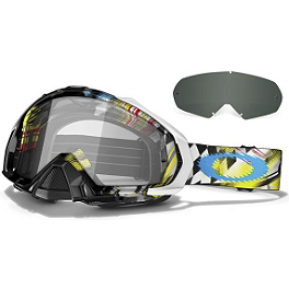 Oakley Mayhem MX James Stewart Signature Goggles - Oakley Crowbar MX Troy Lee Designs Signature Goggles