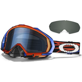 Oakley Mayhem MX Troy Lee Designs Signature Goggles - Oakley Mayhem MX James Stewart Signature Goggles