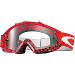 Oakley Proven MX Over The Glasses Goggles -  ATV Goggles and Accessories