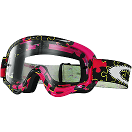 Oakley Youth MX XS O Frame Goggles - Scott Youth 89Si Pro Graphic Goggles