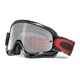 Oakley Youth MX XS O Frame Sand Goggles - Jet Black - Smith Youth Gambler MX Goggles