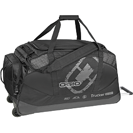 2013 OGIO Trucker 8800 Gearbag - EVS Web Knee Brace Pair With Bag