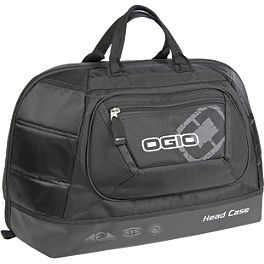OGIO Head Case Helmet Bag - Klim Deluxe Helmet Bag - Black