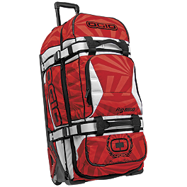 2013 OGIO Rig 9800 LE Gearbag - Alpinestars XL Excursion Roller Gearbag