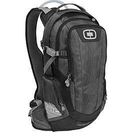 2013 OGIO Dakar 100 Pack - Leatt Element Backpack with 3 Liter Hydration System