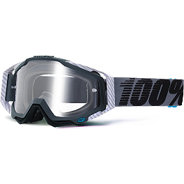 100% Racecraft Goggles - 100% Racecraft Goggles - Mirrored Lens