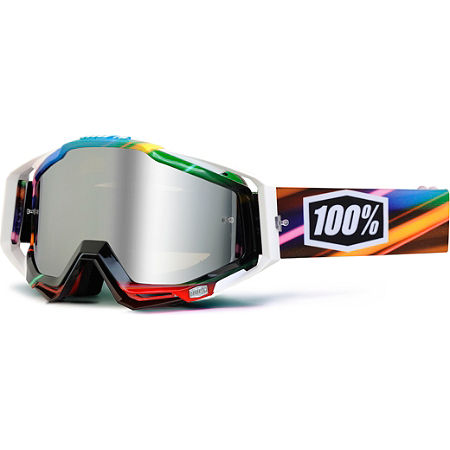 100% Racecraft Goggles - Mirrored Lens - Main