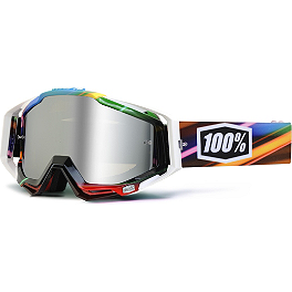 100% Racecraft Goggles - Mirrored Lens - 100% Racecraft / Accuri / Strata Vented Dual Replacement Lens