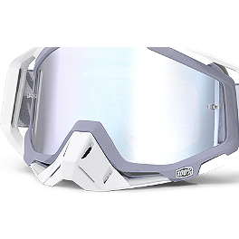 100% Racecraft Nose Guard - 100% Racecraft Goggles - Mirrored Lens