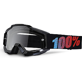 100% Accuri Youth Goggles - 100% Youth Standard Tear-Offs - 20 Pack