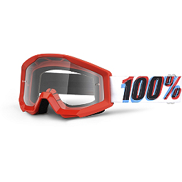 100% Strata Youth Goggles - 100% Strata SVS Roll-Off Goggles