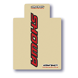 One Industries Upper Fork Decals - Showa - 2013 One Industries Geico Powersports Graphic - Honda