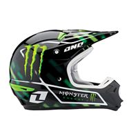 2011 ONE INDUSTRIES KOMBAT HELMET - MONSTER ENERGY