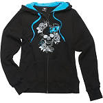 One Industries Women's Lotus Zip Hoody - Womens Cruiser Sweatshirts & Hoodies