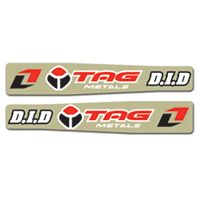 2011 One Industries Factory Swingarm Decals - Honda