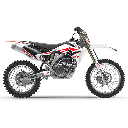 2011 One Industries White Yamaha Cosmetic Kit - Main