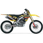2011 One Industries Amateur Rockstar Makita Graphic Kit - Suzuki - One Industries Dirt Bike Graphic Kits With Seat Covers