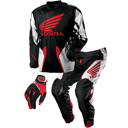 2013 One Industries Carbon Combo - Honda Red - Main