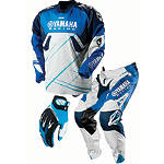 2013 One Industries Carbon Combo - Yamaha - One Industries Dirt Bike Pants, Jersey, Glove Combos