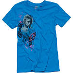 One Industries Women's Heartbeats T-Shirt - One Industries CLOSEOUT Motorcycle Womens Casual