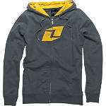 One Industries Women's One Zip Hoody - One Industries CLOSEOUT Dirt Bike Womens Casual