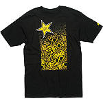 One Industries Rockstar Energy Galaxy T-Shirt - One Industries CLOSEOUT Utility ATV Mens Casual