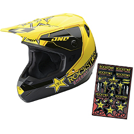 2014 One Industries Atom Helmet - Rockstar - 2013 Answer Comet Helmet - Rockstar V