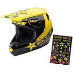 2014 One Industries Atom Helmet - Rockstar - Dirt Bike Off Road Helmets