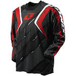 2012 One Industries Carbon Jersey - Trace - Discount & Sale Utility ATV Riding Gear