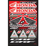 2013 One Industries Honda CRF Decal Sheet -  ATV Body Parts and Accessories