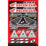 2013 One Industries Honda CR Decal Sheet - Utility ATV Body Parts and Accessories